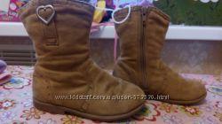 Стильные замшевые сапожки Cherokee 826 размер 16-16, 5 см