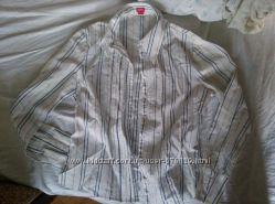 блузка белая в полоску