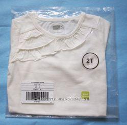 Новая в упаковке нарядная футболка Crazy8 2Т