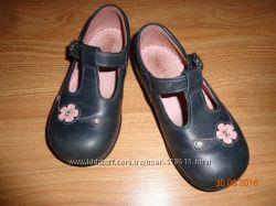 Clarcs Start-Rite Оригинал, Кожаные туфельки для Вашей принцессы, 22 размер