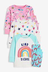 Пижама NEXT размер 4-5 лет рост 104-110см
