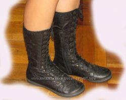 Сапоги-ботинки высокие