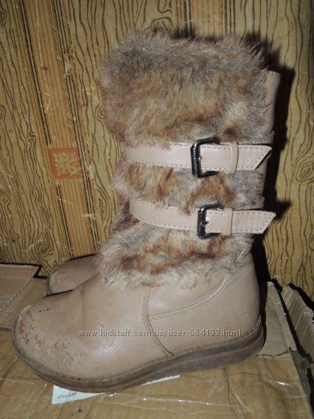 Сапоги для девочки зимние