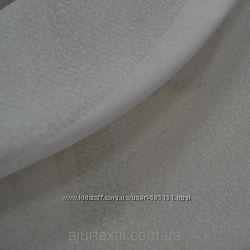Тюль лен с кристалоном Снежная