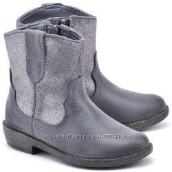 CLARKS Biddie Tack детские кожаные сапоги размер 25, 26,  28, 29,