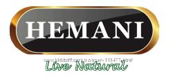 Продукция компании Hemani