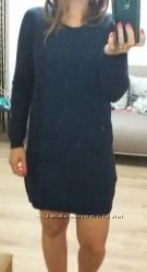 Теплое шерстяное платье Манго на зиму