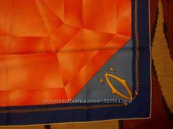 Шелковый платок Cartier, оригинал, Франция, 100  шелк