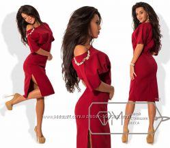 Платье ФМ размери 42-46 модель 7734-7736 , разные цвета