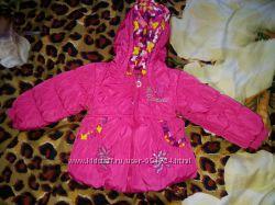 Курточка на синтепоне на малышку