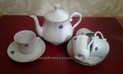 Сервиз чайный кофейный Royal Kent Fine Porcelain на 6 персон, 13 предметов