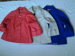 Плащ жакет куртка GEORGE Англия р. 14 и 16 красный синий