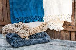 Плед-накидка Buldans, 2 размера, 4 цвета, качество превосходное