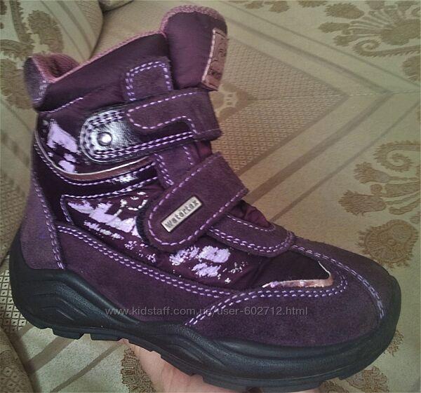 Теплющие зимние ботинки twisty Германия р. 27 стелька 17,5 см