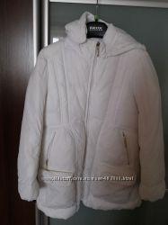 Пальто куртка для девочки на 8-9лет