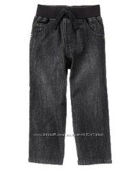 Джинсы детские EUR 74 80 86 1 2 3 года на резинке штаны брюки Crazy8 США