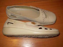 кожаные  туфли  ф.  Hotter размер  5  1&922  -  25