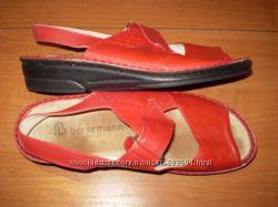 классные  кожаные  босоножки  ф.  Berkemann  размер  38 -   25  см