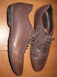 кожаные туфли ф. Geox размер 45 - 30. 5 см