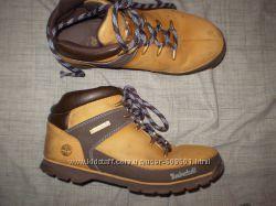 кожаные  ботинки  ф. Timberland  размер  39. 5   -   24. 5  см