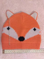 Новая теплая шапка Лиса от Gap на осень или весну