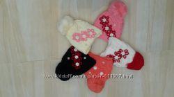 Зимние шапки для девочек 4-5 лет