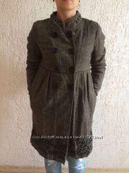 Дизайнерское шерстяное пальто Rene Derhy