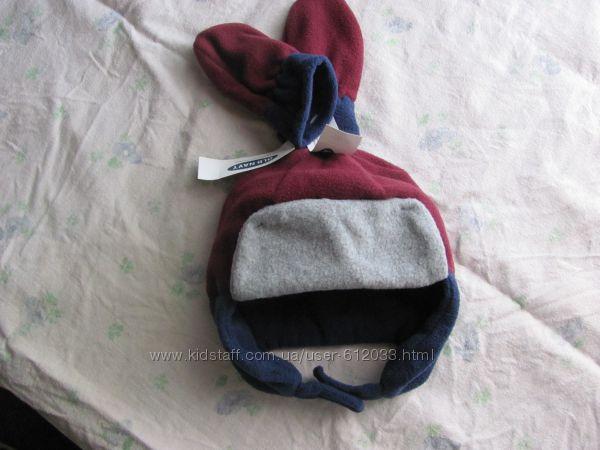 Флисовая шапка и варежки OLD NAVY р. XS