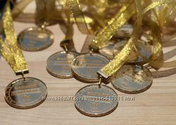 медаль на свадьбу, медаль для выпускников, медаль на юбилей