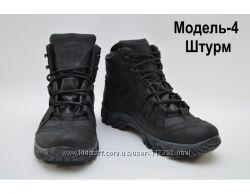 Качественные кожаные ботинки под заказ