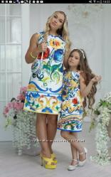 Плаття мама і дочка