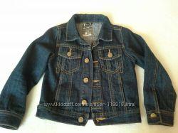 Джинсовый пиджак  NEXT на 4-5 лет