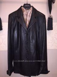 Кожаный пиджак из нежной кожи