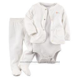 Хлопковые комплекты Картерс для новорожденных