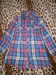 Рубашка на 9-10 лет