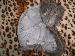 Зимняя шапка натуральный мех
