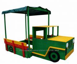 Песочница для детей, деревянные песочницы Pes-16