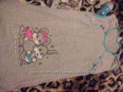 Халат с ночной рубашкой для роддома