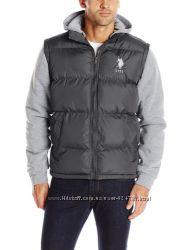 Куртка U. S. Polo Assn с флисовыми рукавами. l-xl