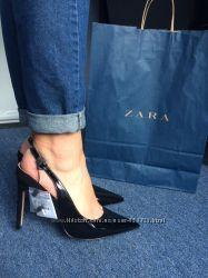 Туфли лодочки на шпильке Zara