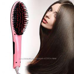 Расческа выпрямитель Fast Hair Straightener HQT-906  1001420
