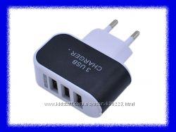 Зарядное устройство  ACDC 3 USB 5V.