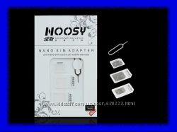 Адаптеры для SIM-карт 3 шт.  скрепка. NOOSY 4 в 1