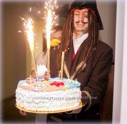 Аниматоры Пираты Нетландии, пиратский день рождения Киев