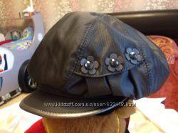стильные теплые  кепи женские на флисе новые