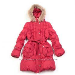 Пальто зимнее на девочку Кико 1312 , пух