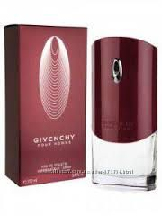 Givenchy pour homme  мужская туалетная вода