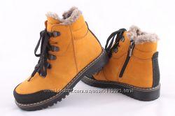 Зимние  ботинки от Берегини