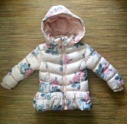 Зимние удлиненные курточки для девочек