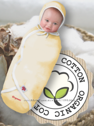 Пеленка-конверт из фланели , органического хлопка